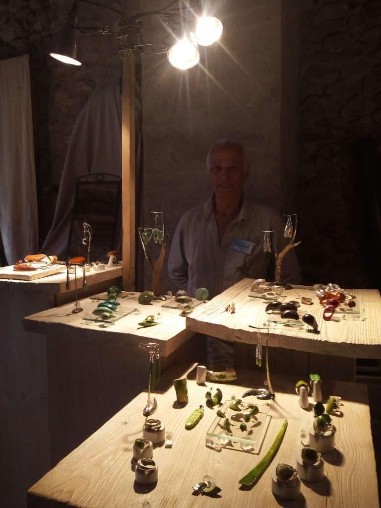 Claude Vernet Créateur Bijoux artisan d'art bijoutier