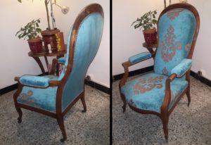 ameublement décorateur rénovation fauteuil