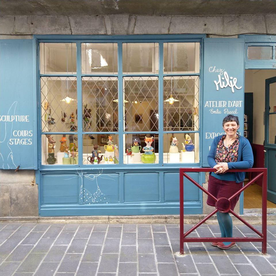 artisanat Métiers d'art Plasticienne Ariège Saint-Girons