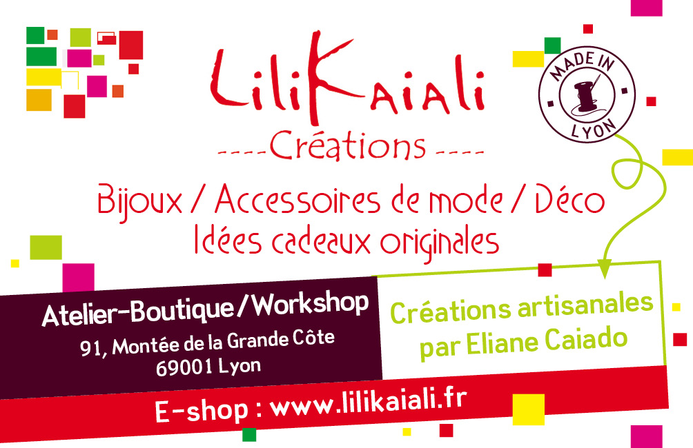 Lilikaiali Créations Lyon - L'Escale des Créateurs