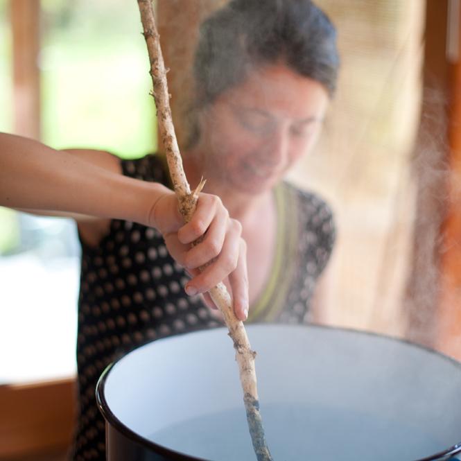 Atelier teinture : shibori et indigo - L'Escale des Créateurs