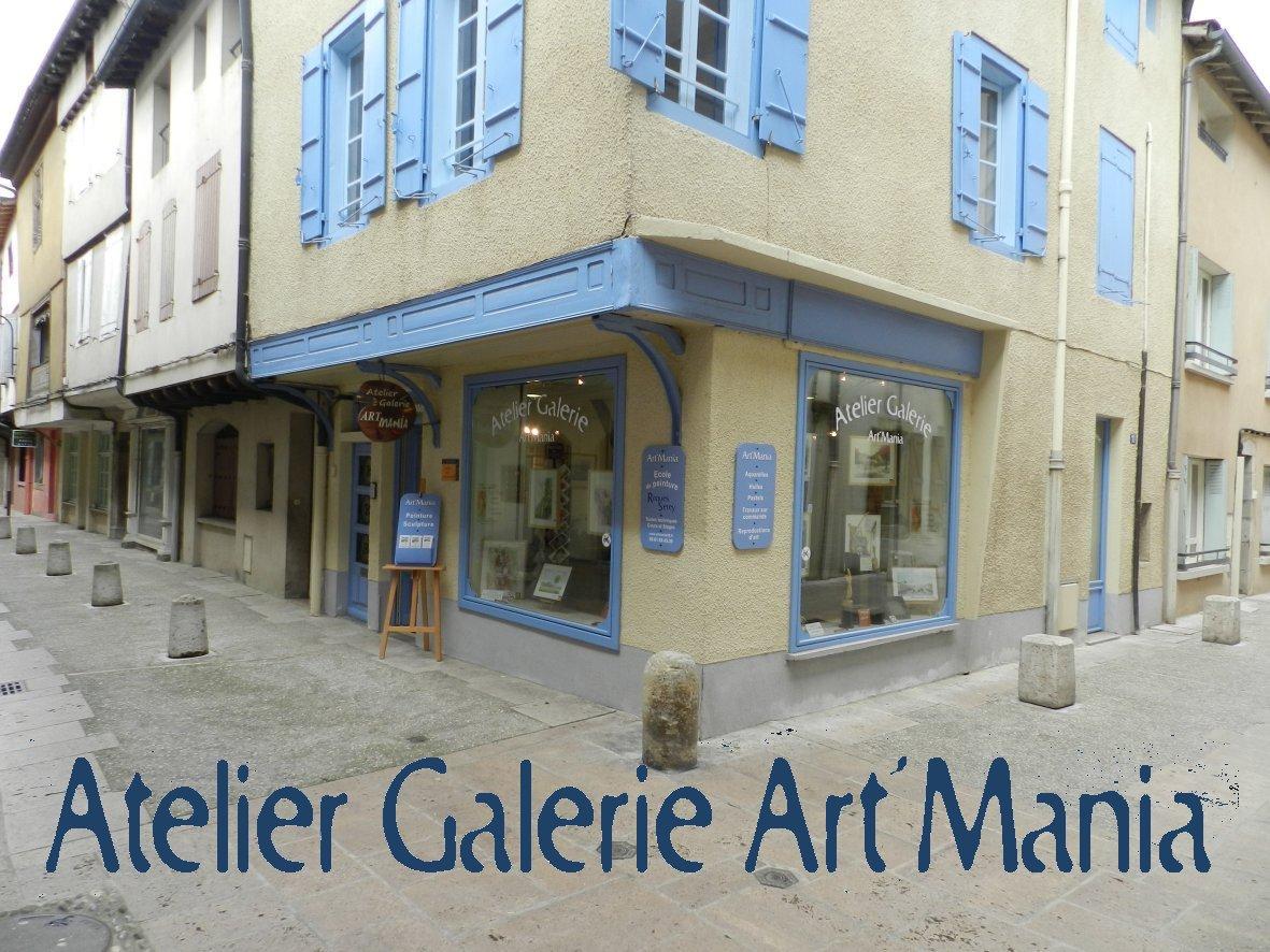Art'Mania atelier galerie - L'Escale des Créateurs