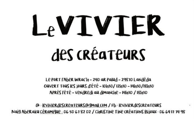 Le VIVIER des créateurs L'Aber-wrac'h - L'Escale des Créateurs