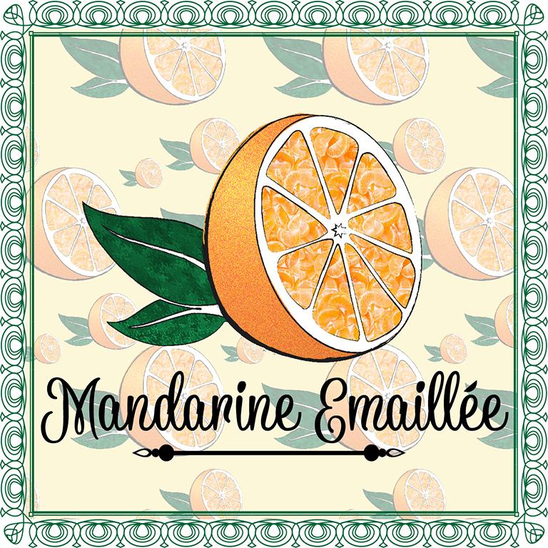 Mandarine Emaillée - L'Escale des Créateurs