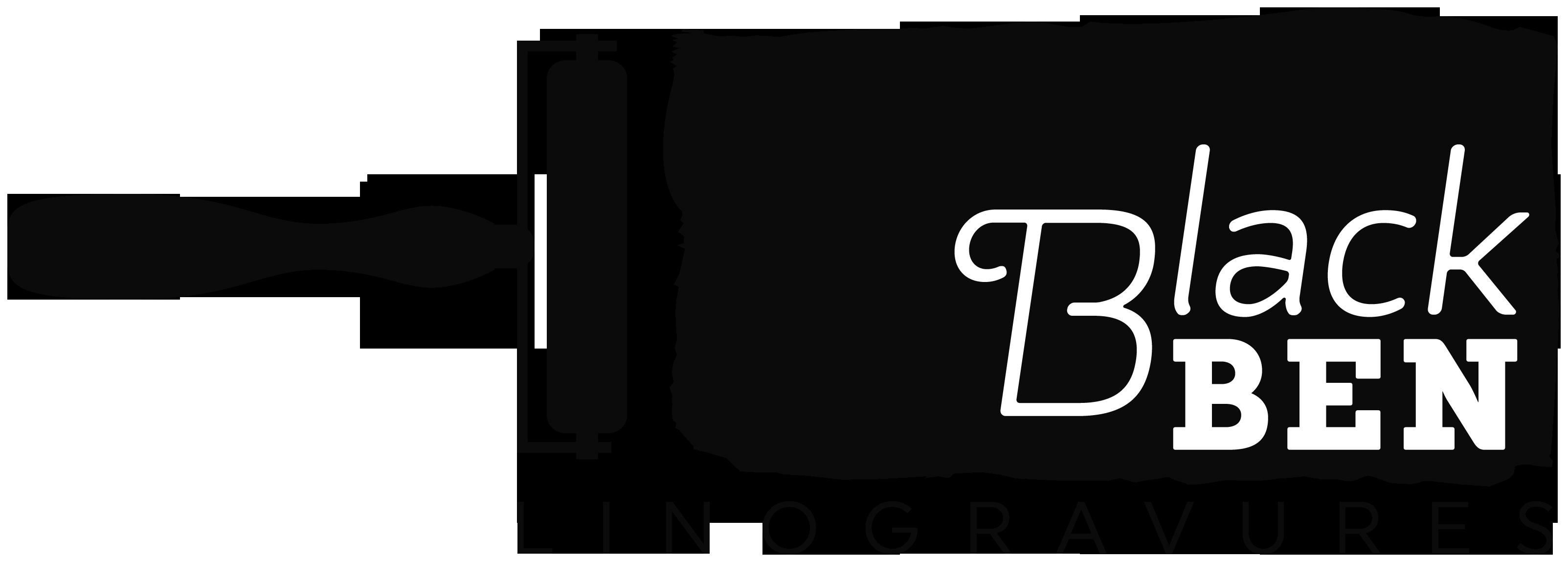 Black BEN Linogravures - L'Escale des Créateurs