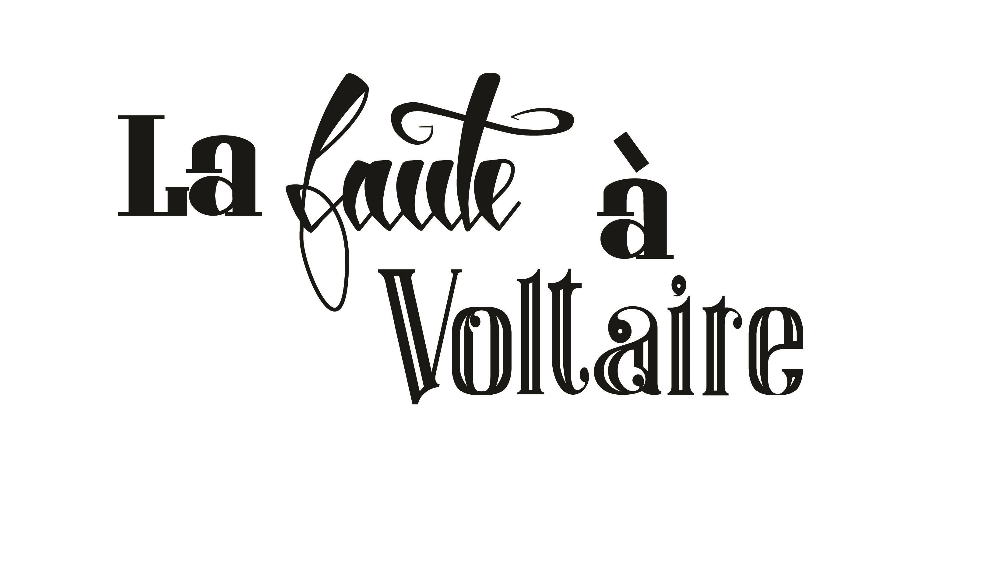 La faute à Voltaire - L'Escale des Créateurs