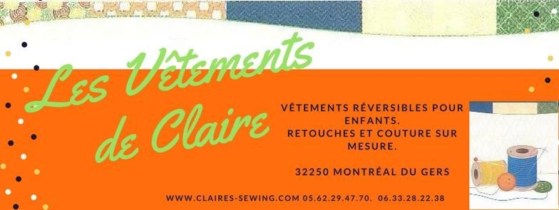 Les Vêtements de Claire - L'Escale des Créateurs