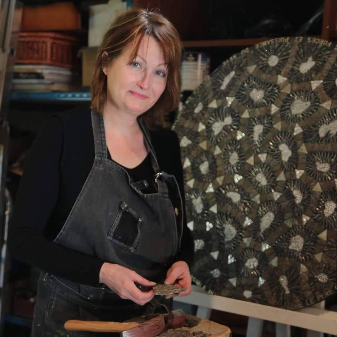 Isabelle Gerbault Mosaïste Contemporaine - L'Escale des Créateurs