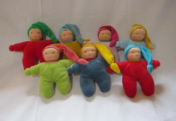 Les poupées câlines - Caroline Dufils - L'Escale des Créateurs